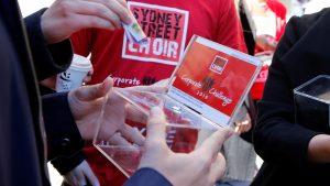 Raising money for the Sydney Street Choir